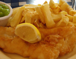 Picture of fish and chips